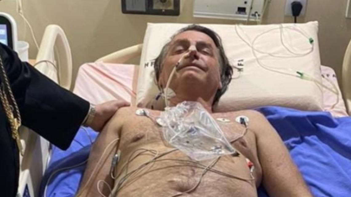 巴西总统接连打嗝10天入院医治