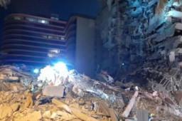 美国公寓倒塌已致3死99失联